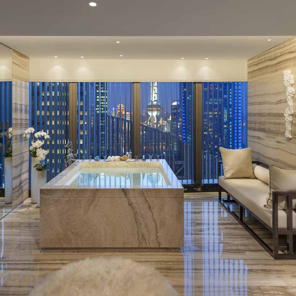 mandarin oriental presidential bathroom shanghai